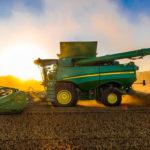 Комбайны с искусственным интеллектом собрали 720 тыс. тонн урожая