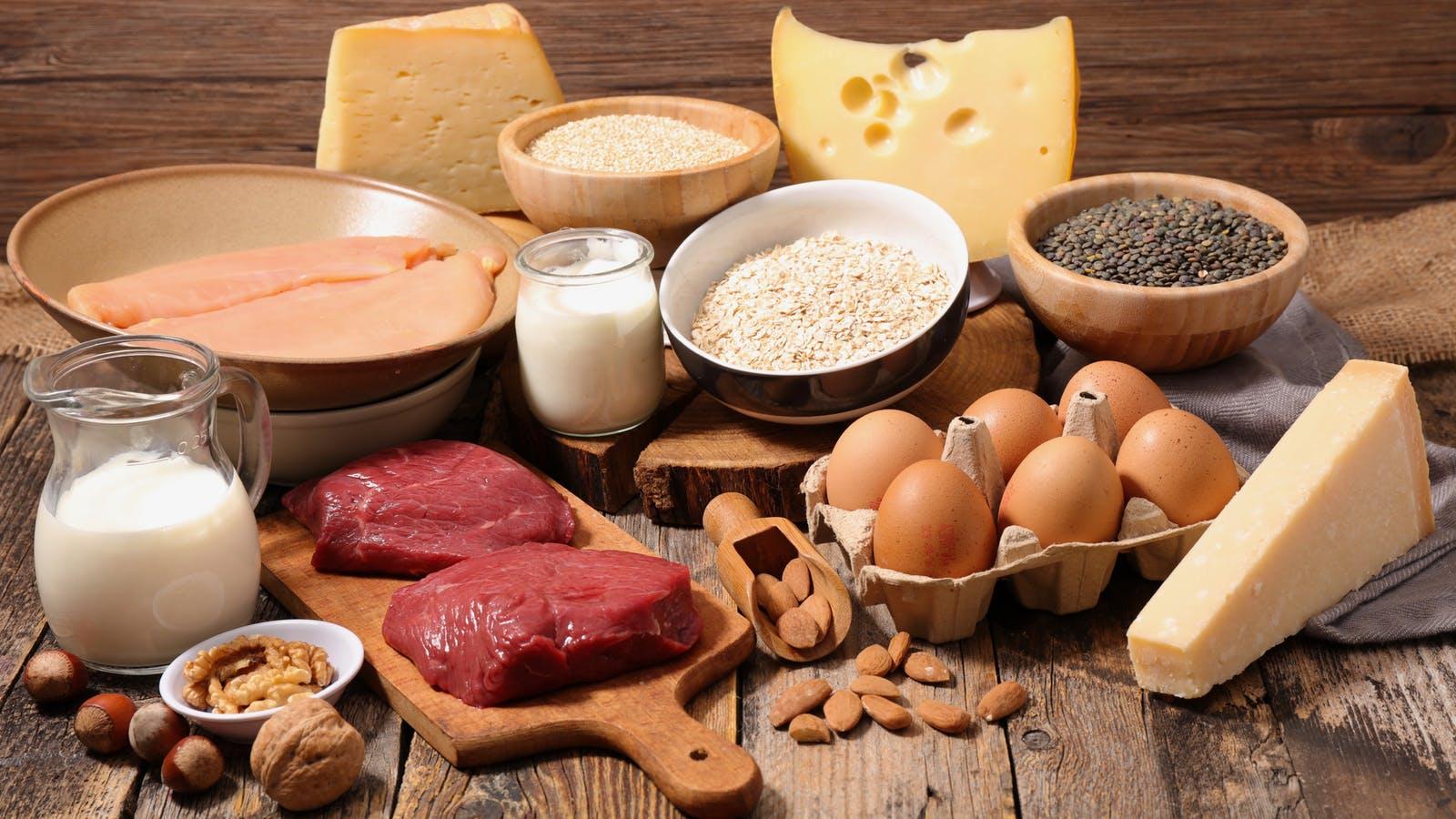Россияне стали употреблять больше белка животного происхождения